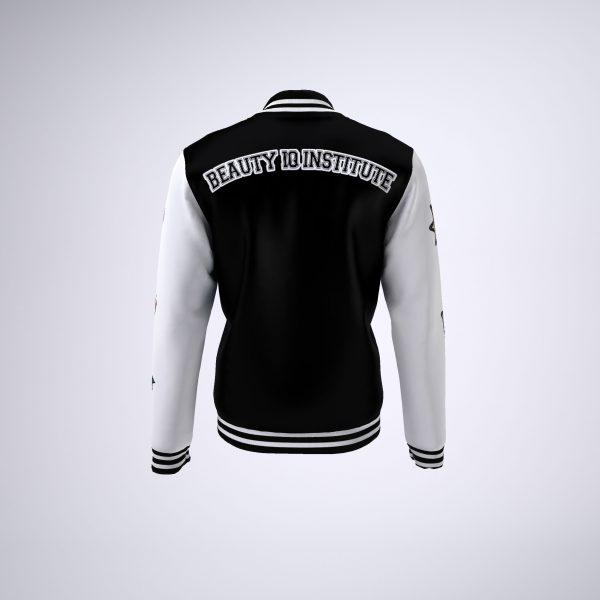 BIQ Letterman Jacket BW 3